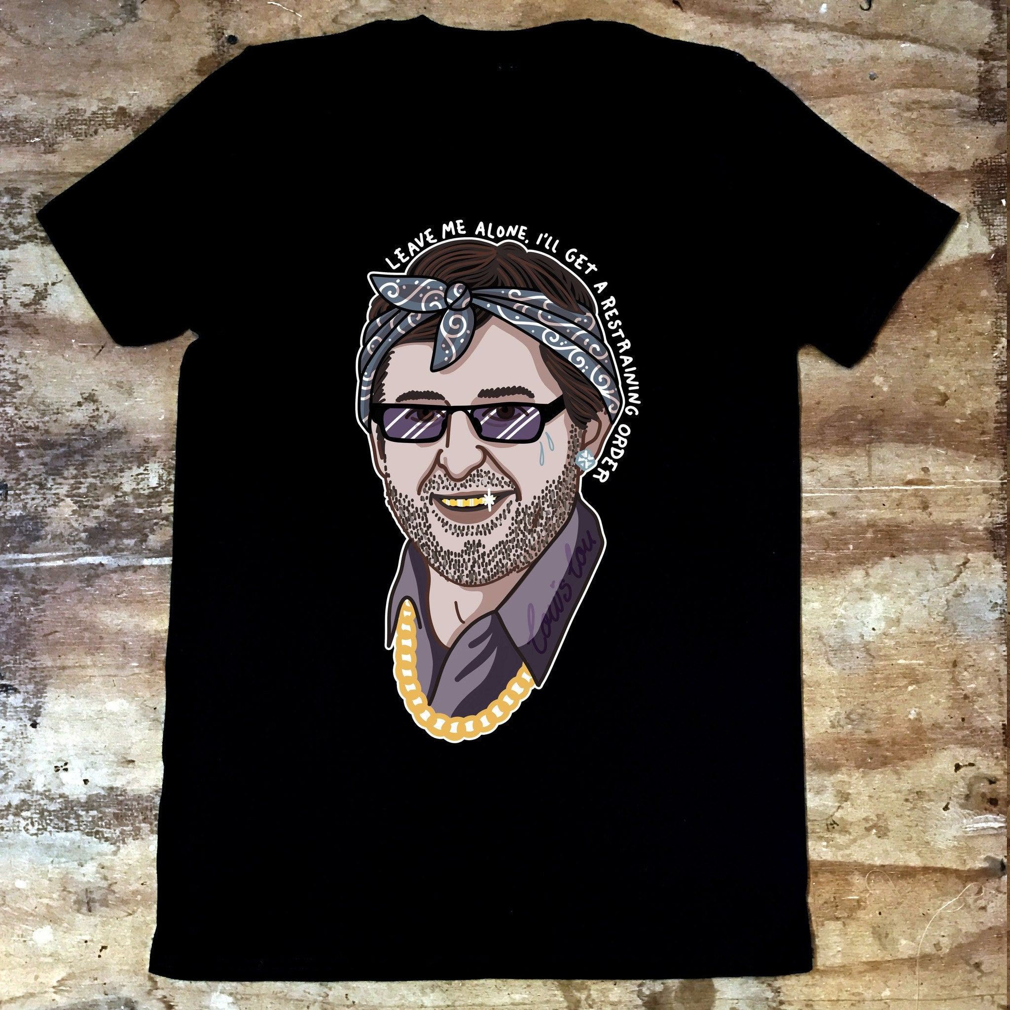 Louis Theroux - Restraining Order - Jiggle Apparel