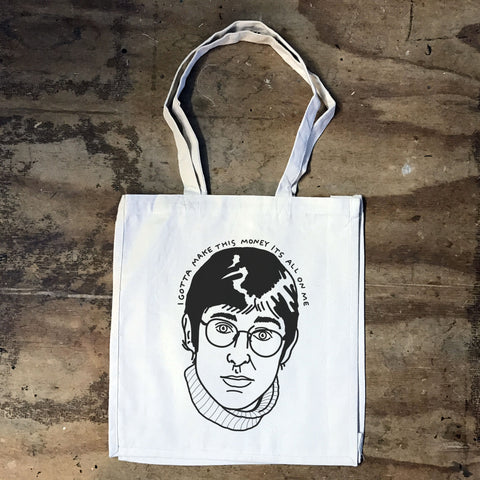 Louis Theroux -I Gotta Make This Money Bag - Jiggle Apparel
