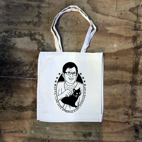 Louis Theroux - I Like Cats Tote bag - Jiggle Apparel