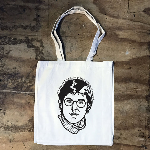 Louis Theroux - My money Doesn't Jiggle, It Folds Tote Bag - Jiggle Apparel