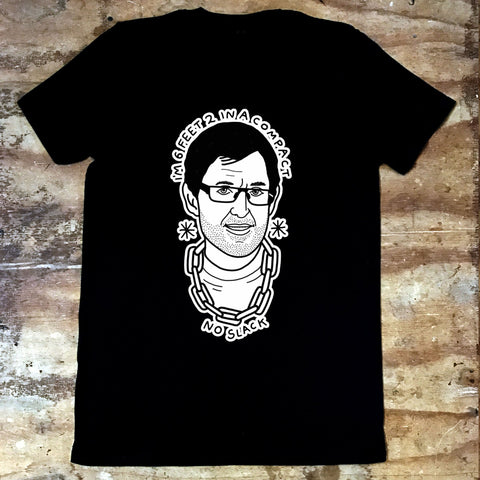 Louis Theroux - I'm 6 feet 2 in a Compact, No Slack - Jiggle Apparel