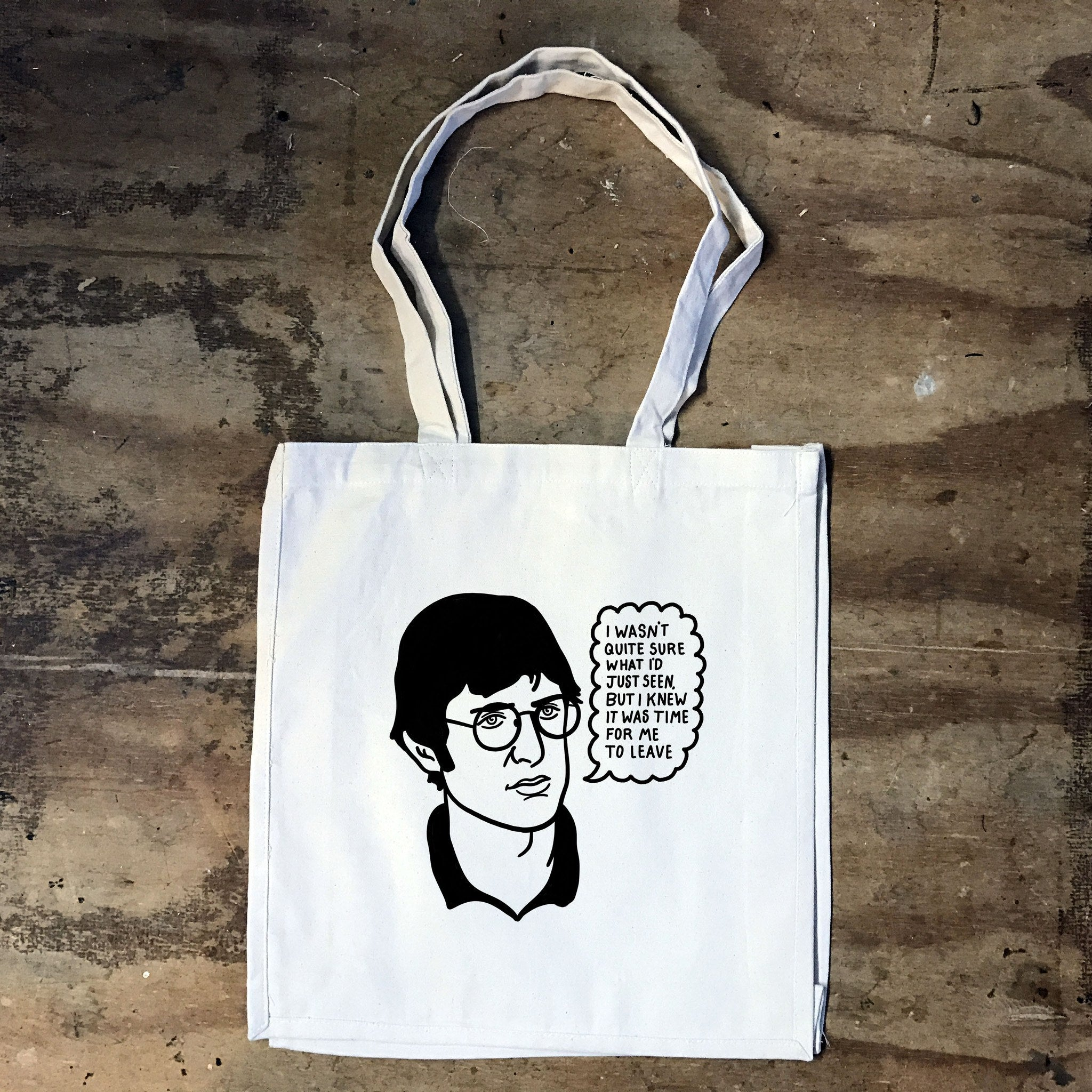 Louis Theroux - I wasn't Quite Sure what I'd Just Seen - Tote Bag - Jiggle Apparel