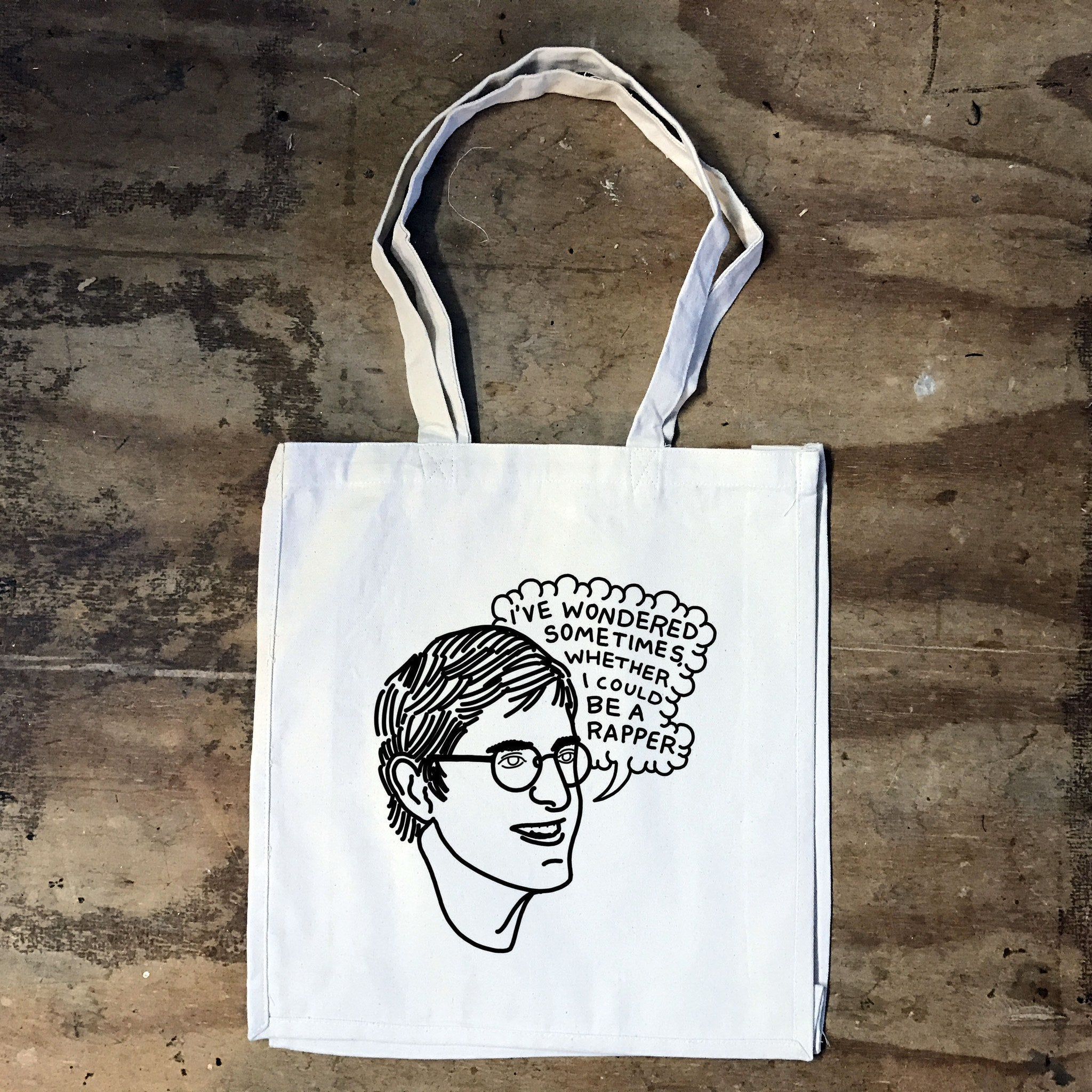 Louis Theroux - I wondered sometimes - Tote bag - Jiggle Apparel