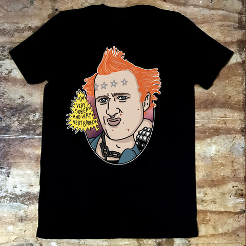 Young Ones - Vyvyan - Sober - Jiggle Apparel