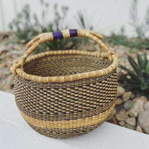 VEGAN BASKET - INDIGO - XL