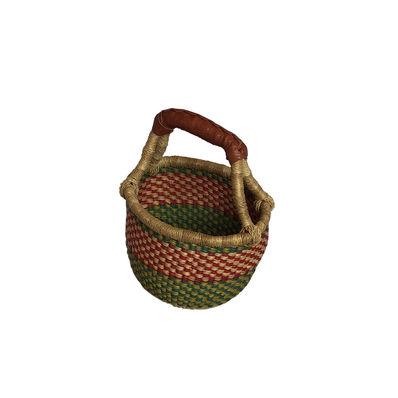 MULTICOLOURED BASKET - MINI