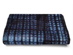 AFRICAN COTTON MATERIAL - INDIGO hand dyed by artisans in West Africa - african fabrics australia - TRADITIONAL TEXTILES - CHECKERED
