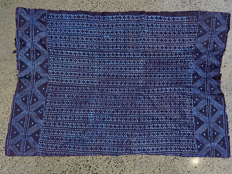 MUD CLOTH - PRAYER - INDIGO