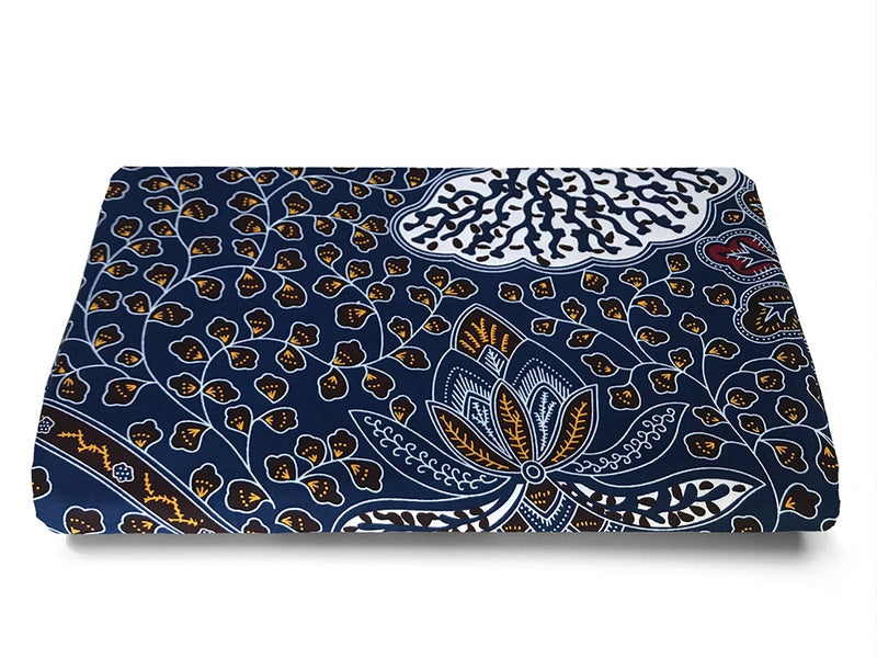 AFRICAN FABRICS AUSTRALIA -  ANKARA FABRIC - cotton material perfect for sewing quilting and patchwork - SEA BED