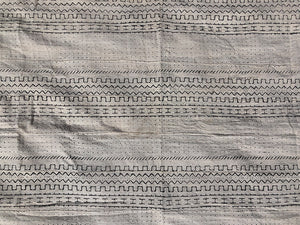 MUD CLOTH - ABÉNÉ - WHITE