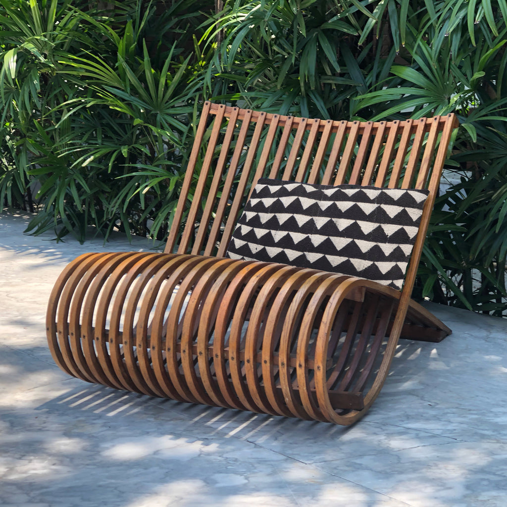 MUD CLOTH CUSHION - ZIENA