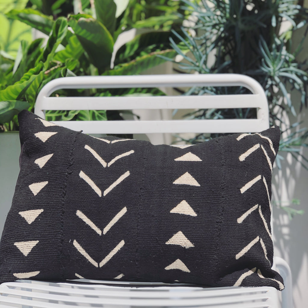 MUD CLOTH CUSHION - MIÉNA