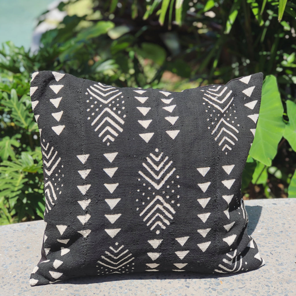 MUD CLOTH CUSHION - ZULA