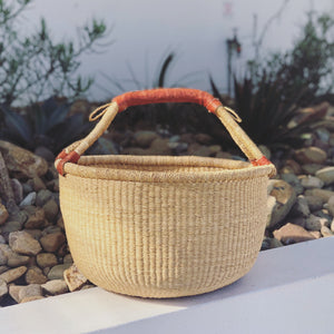 NATURAL  BASKET - L