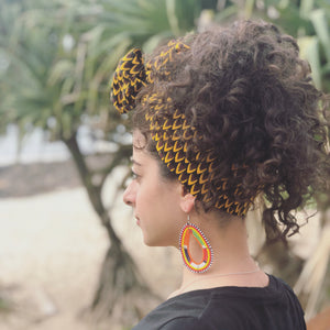 HEAD WRAP - SCALES