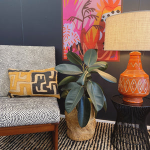KUBA CLOTH CUSHION - SAND
