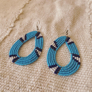 MAASAI EARRINGS - OCEAN