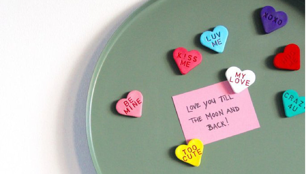 Craft it! Love Heart Magnets