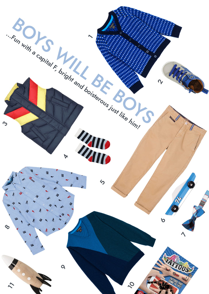 Velveteen Boys Gift Guide