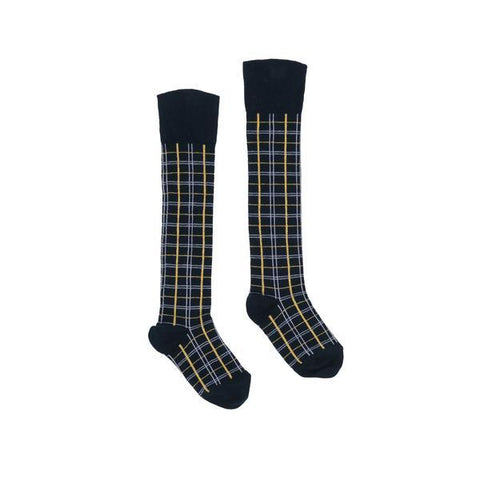 Lara Socks Honey & White Check