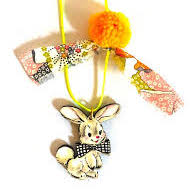 Gunner & Luxe Bunny Necklace