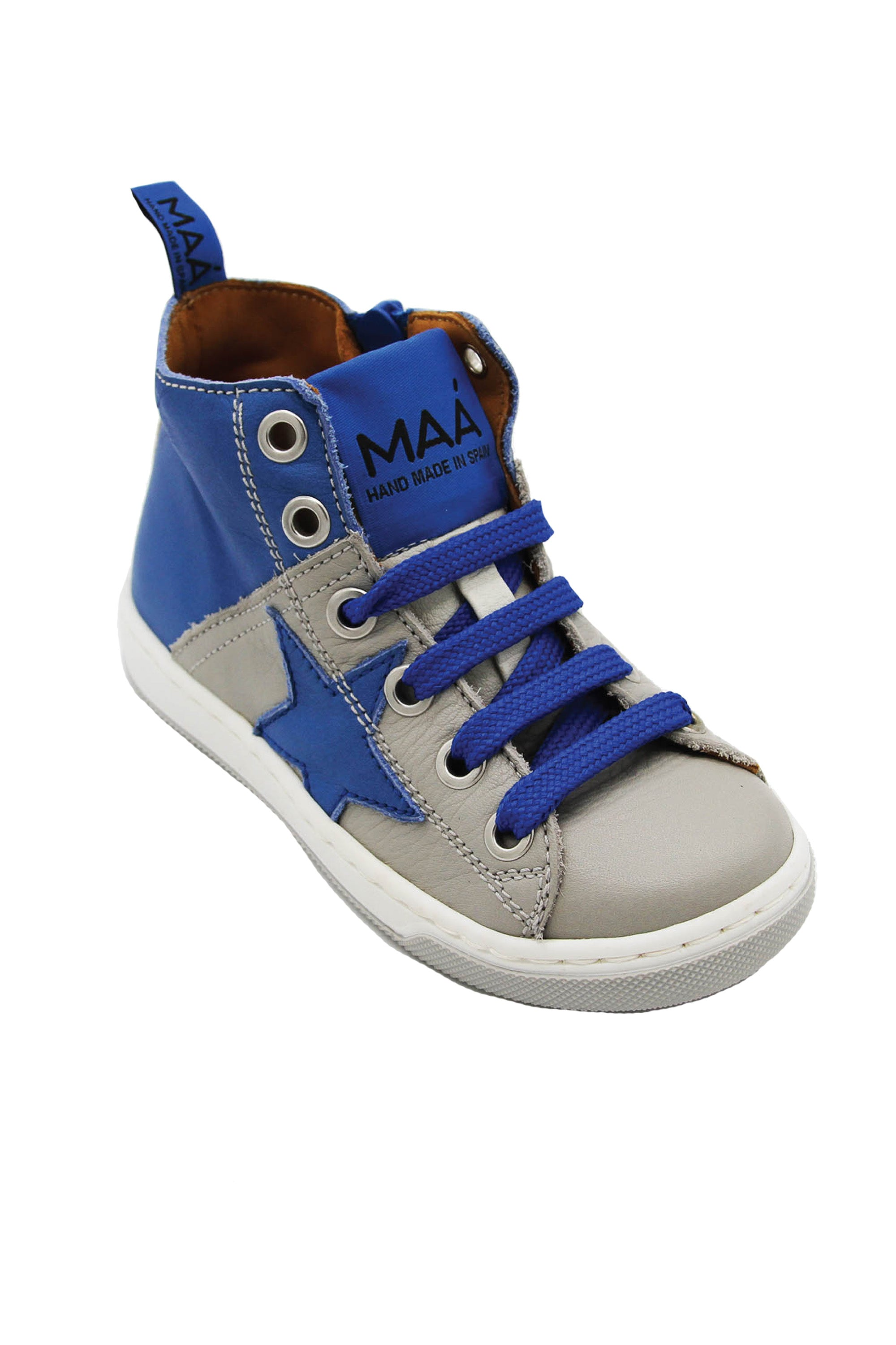 Maa Leather High Tops
