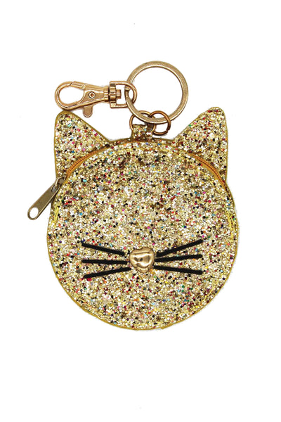 Milk & Soda Glitter Cat Coin Purse