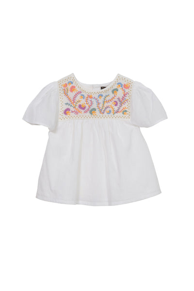 Asha Embroidered Top