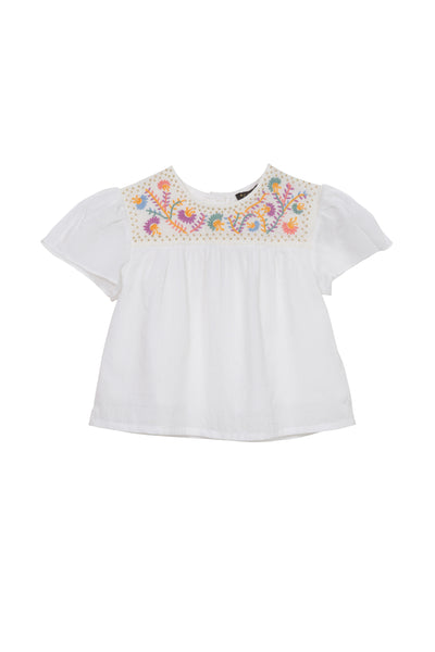 Juniper Embroidered Top