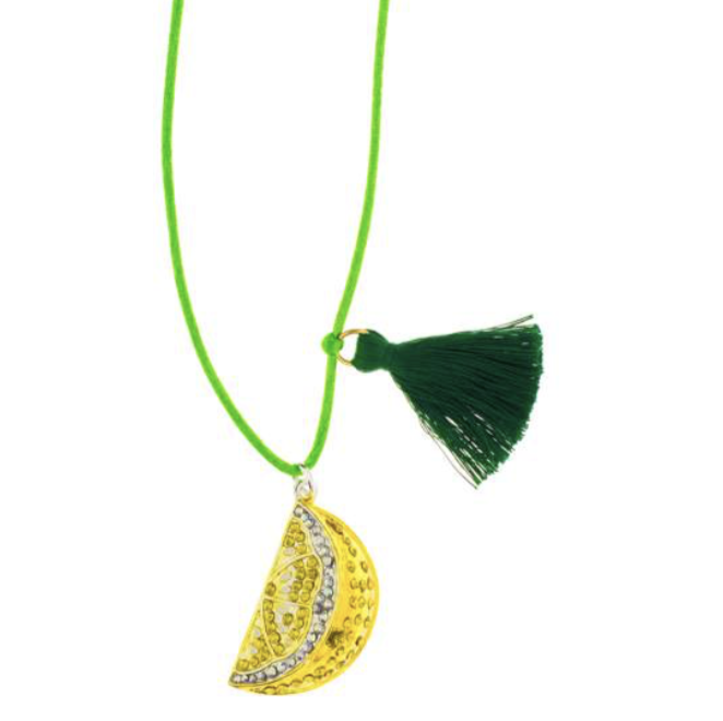 "Gunner & Luxe ""Lemon Love"" Necklace"