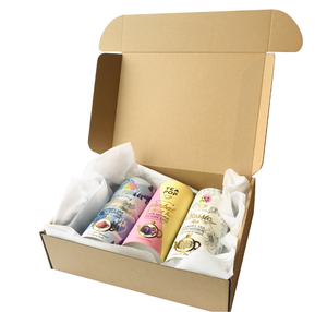 TEA-POP Gift set, 3x Tubes with Assorted Blends, Packed in Gift Box
