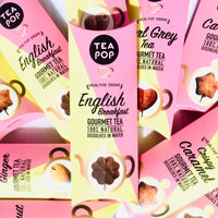 TP1-08 English Breakfast TEA On-A-Stick! / 20x sticks tray / Wholesale Price