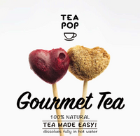 GIFT BOX Tea-Pop Sticks / Wholesale Price / FREE Shipping Offer / 1 Case (2x Units)