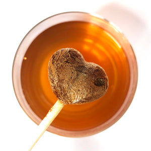 Earl Grey Tea-Pops, Classic Blend, Crystallised Gourmet Tea, 10x Pops per tube