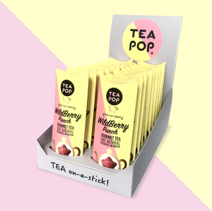 TP1-03 WildBerry Punch TEA On-A-Stick! / 20x sticks tray / Wholesale Price
