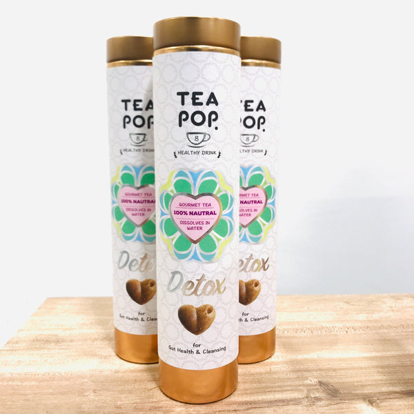 DETOX Green Tea-Pops / 1x Case (6units) / Wholesale Price