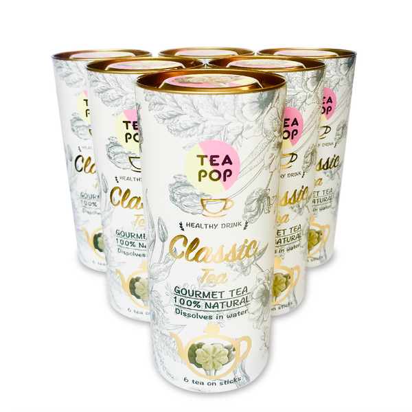 Classic Tea-Pop Stick / Wholesale Price / 1x Case (6units)
