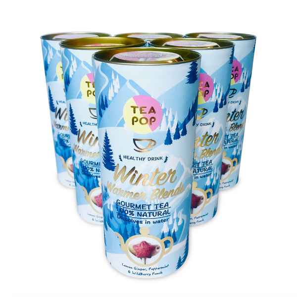 Assorted Winter Warmer Tea-Pop Stick / Wholesale Price / 1x Case (6units)