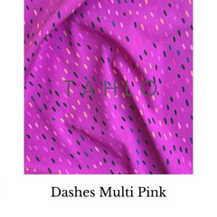 dashes multi fabric swatch