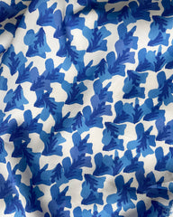 image of tencel lending print blue and white