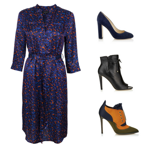 Tahlo shirt dress - which Jimmy Choos to choose?