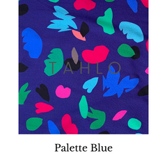 Palette Blue Fabric Swatch