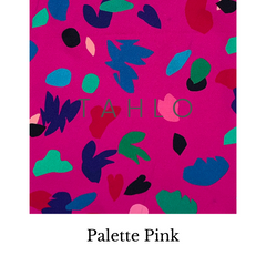 Pink Palette Fabric Swatch