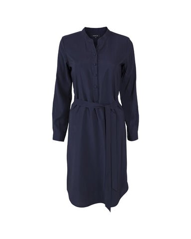 Tahlo shirt dress in navy, the perfect work dress
