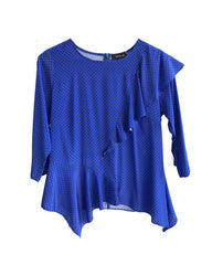 Remy Frill Top - Sleeved Edit
