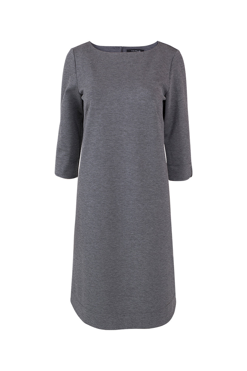 Cassie Shift Dress - Charcoal