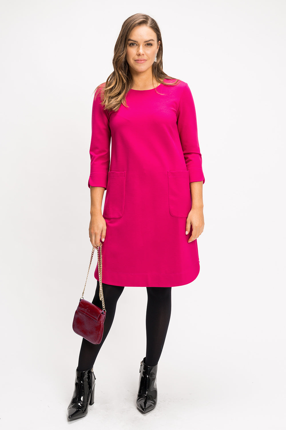 Cassie Shift Dress - Pink