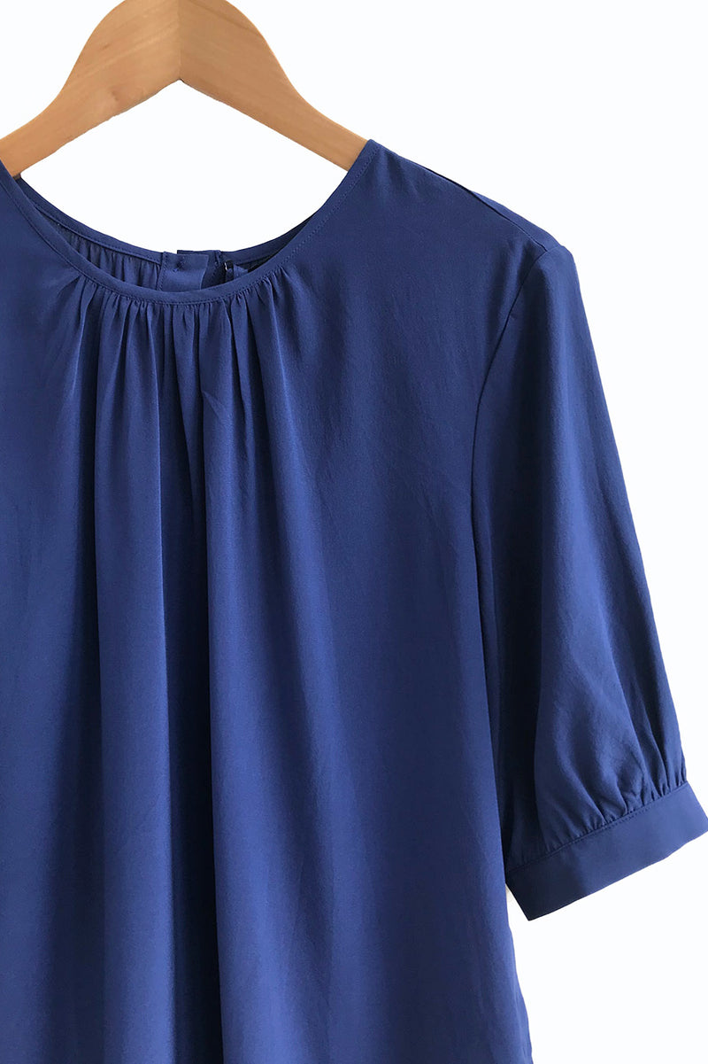 Agnes Silk Blouse