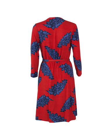 Louisa Wrap Dress - Callista Print