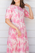 Dahlia Tiered Dress - Tencel